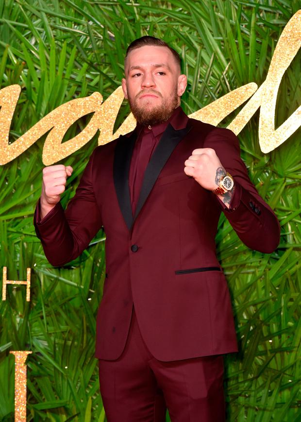 Conor McGregor. Photo: PA