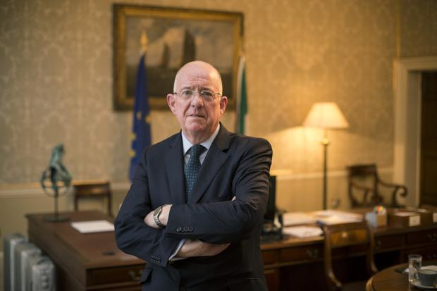 Justice Minister Charlie Flanagan