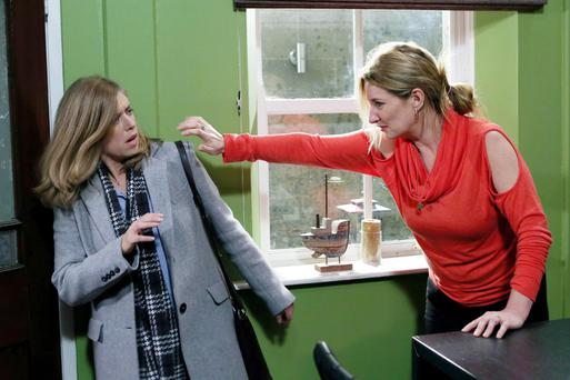 Carol confronts Aoife over sleeping with Robbie