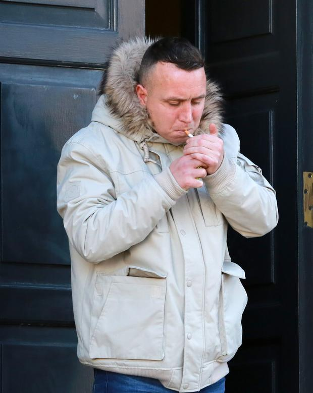 Dean Byrne had 53 previous convictions, the court heard