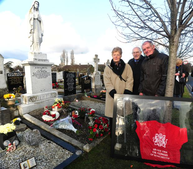 Services held on 60th anniversary of Munich air disaster