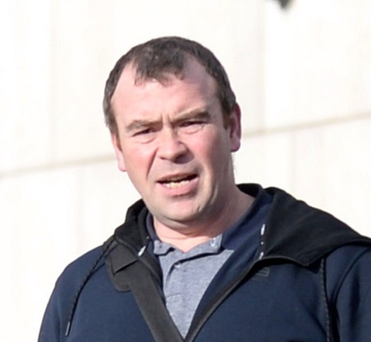 Edward Daly 'squared up' to his ex-partner in the street