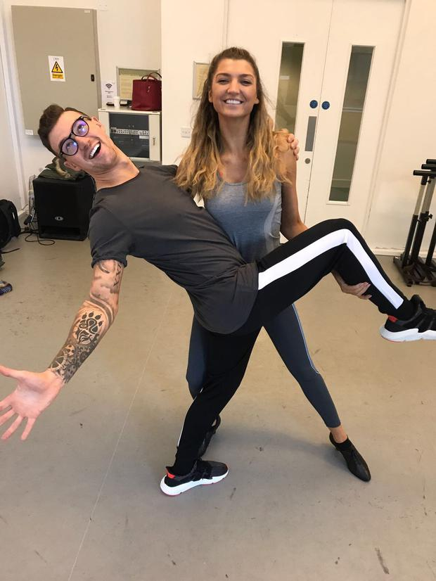 Alannah Beirne revealed this morning that she will be stepping onto the dance floor with brand new partner, Kai Widdrington, for 'switch-up' week this Sunday on Dancing with the Stars.