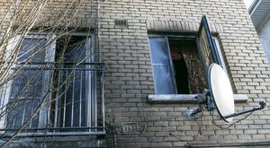 The damage caused to a family home in west Dublin after it was twice targeted in firebomb attacks recently by vigilantes