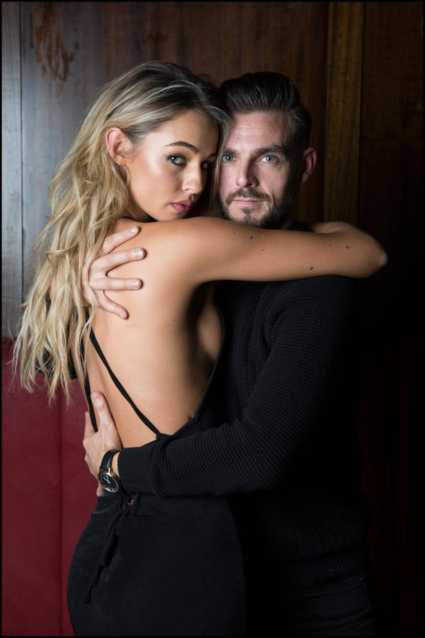 Thalia Heffernan and her boyfriend, dancer Ryan McShane