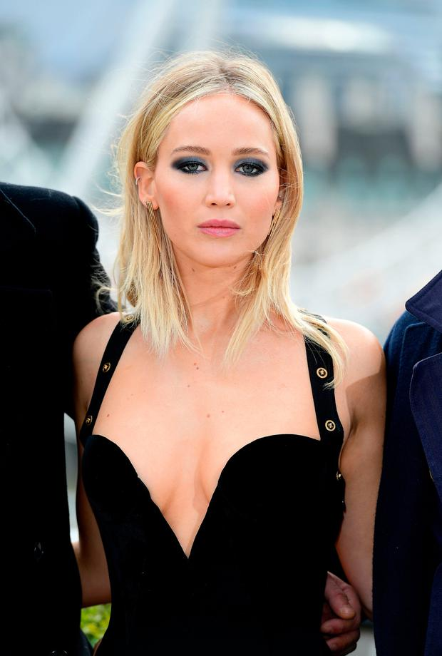 Actress Jennifer Lawrence. Photo: PA