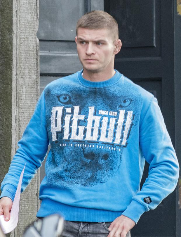 Daniel Danilowicz was jailed for four months and fined €200.