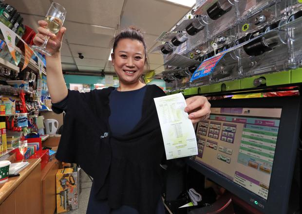 Amy Cong sold a winning EuroMillions ticket in January