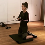 Mum-to-be Vogue Williams is keeping up her gym work