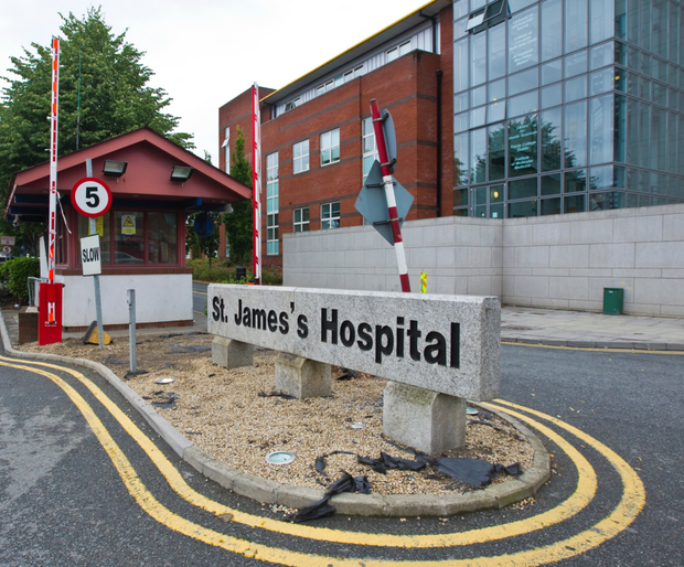 St James's Hospital cannot serve trolley patients hot food