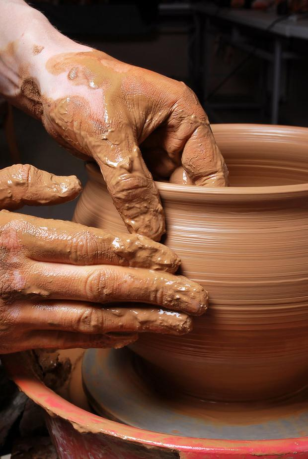 Pottery is among art classes
