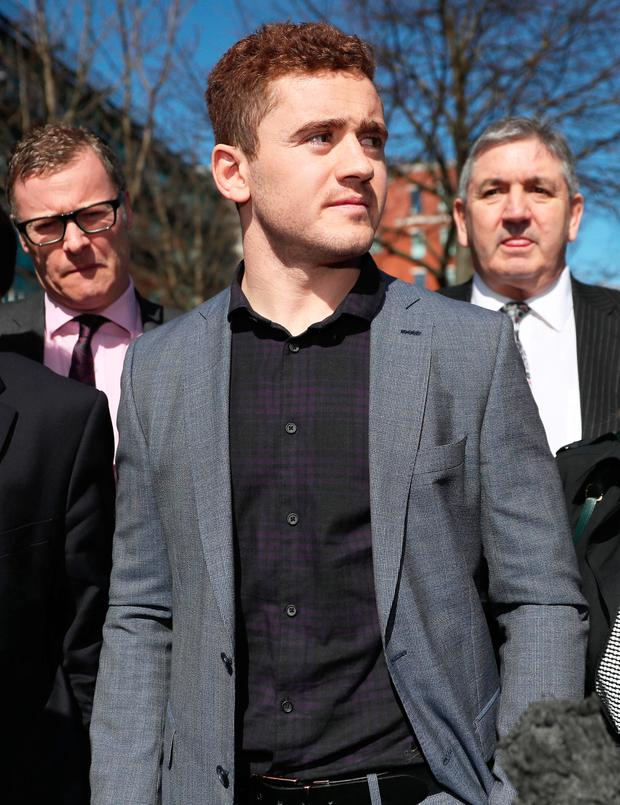 Paddy Jackson. Photo: PA