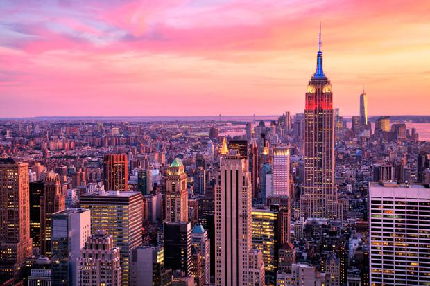 New York remains a popular destination for Irish tourists