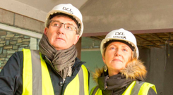Majella O'Donnell and husband Daniel on Room To Improve