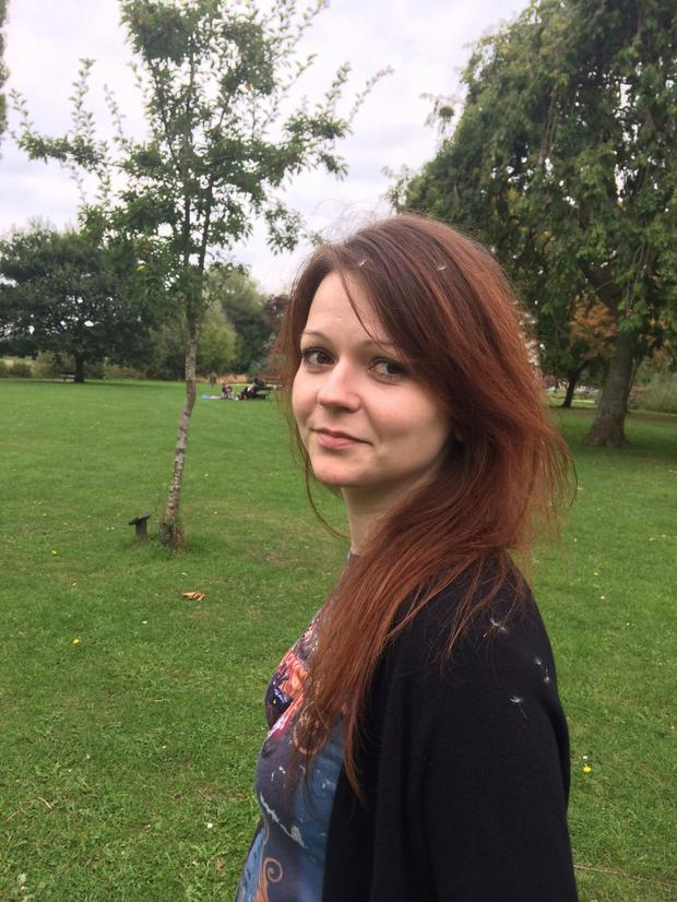 Yulia Skripal was targeted in a chemical attack on March 4. Photo: AFP/Getty Images