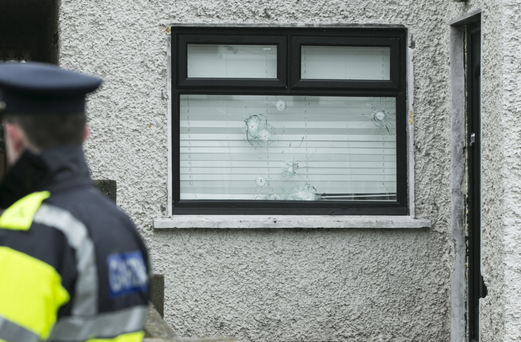 Scene of shooting in Mulhuddart, west Dublin