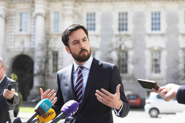 Housing Minister Eoghan Murphy spoke about the measures