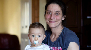 Aneta Petrova, pictured with her son David, has been awarded €17,000