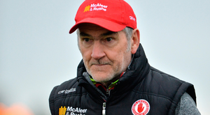 Tyrone manager Mickey Harte filmed an anti-repeal advert
