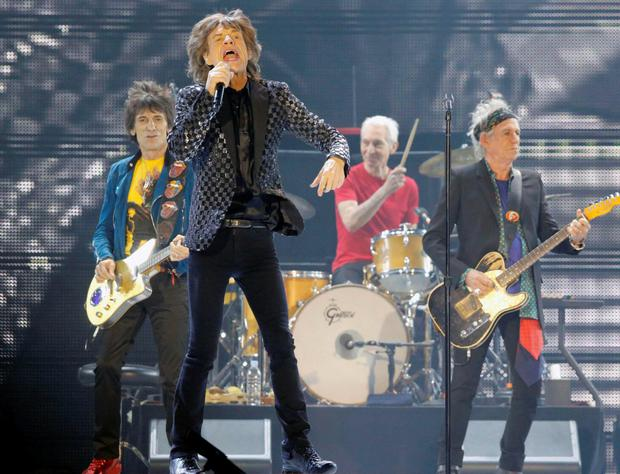 The Rolling Stones will play Croke Park this month