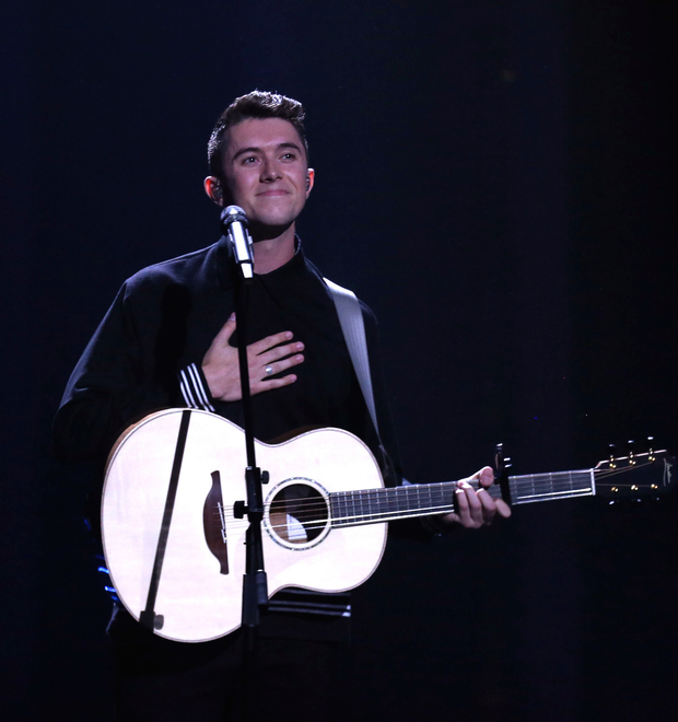 Ryan O'Shaughnessy performs Together in Lisbon (AP)