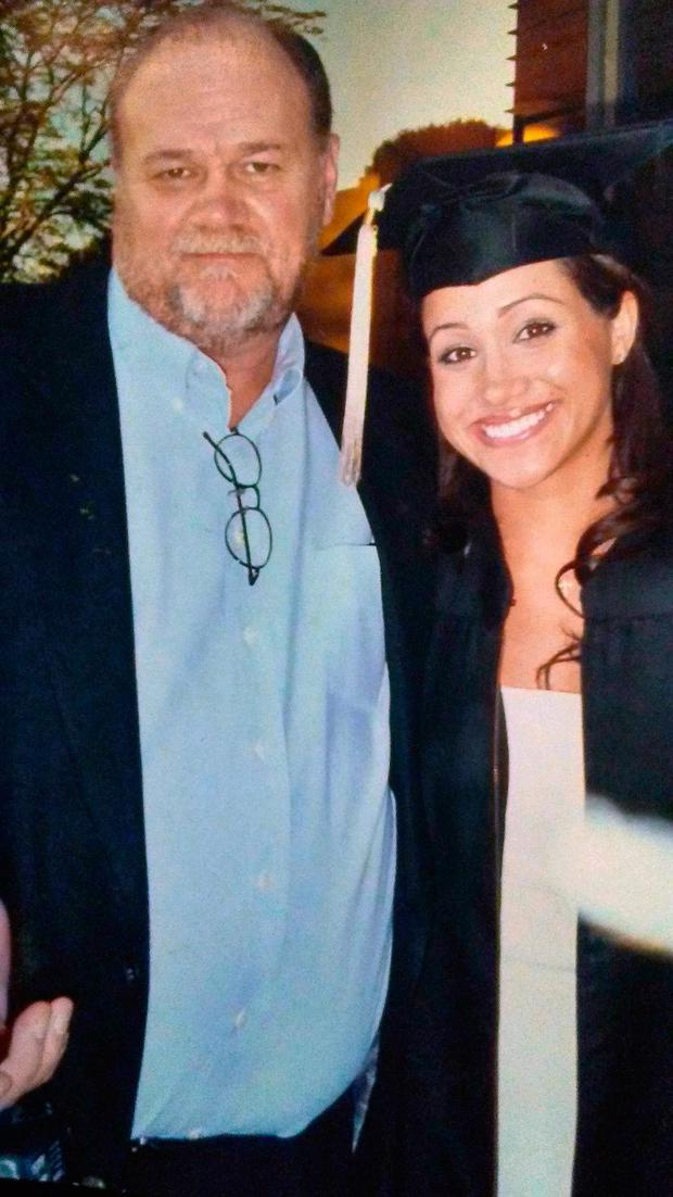 Thomas Markle with his daughter