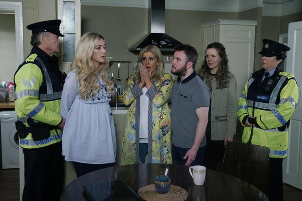 Charlotte reacts angrily when she discovers Kerri-Ann is the killer in tonight's Fair City episode