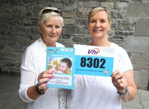 Mary and Ann Coghlan have been competing in the charity race for over 20 years