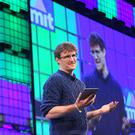 Paddy Cosgrave addresses the Web Summit in Dublin