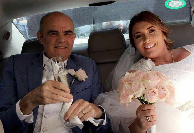 Patrick Murphy and Tracey married last week