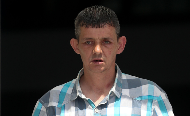 Mark Byrne was said to be 'under the influence and giggling'