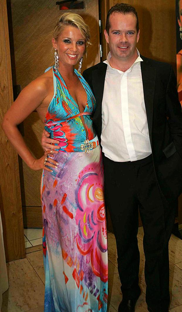 Katy French and Lee Cullen in 2007