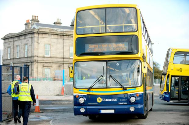 'Under the proposals, the level of bus service across the city will increase by 27pc, and 11 new orbital routes which will operate every 15 minutes or more will be introduced.' Photo: PA