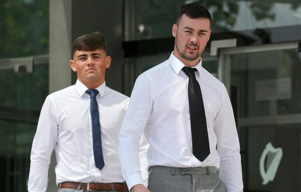 Jason Bradley, left, and Dean Bradley were jailed for life for the 'savage, barbaric and brutal' murder