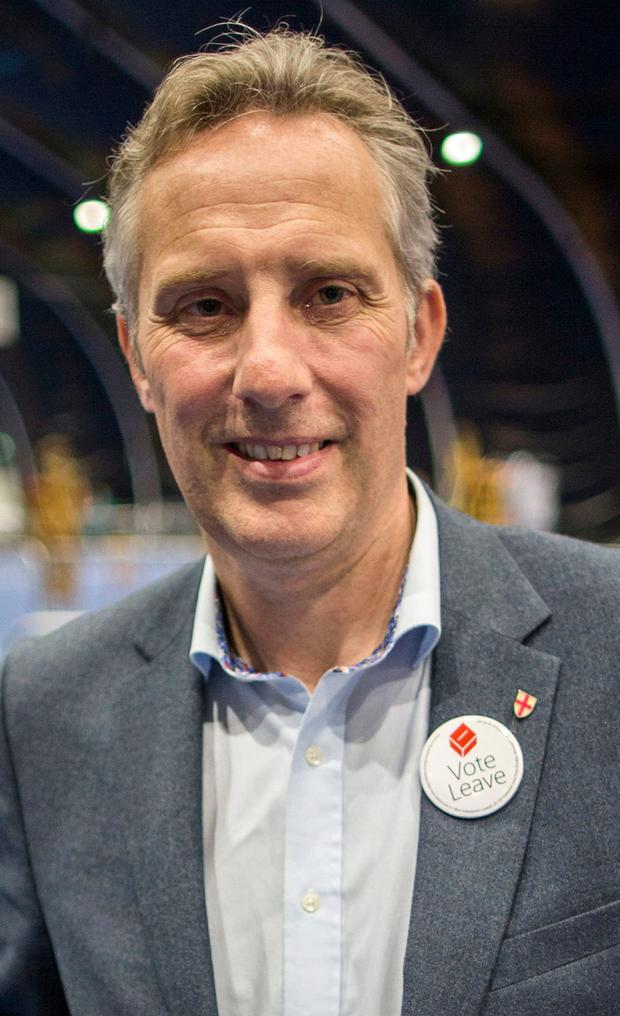 Democratic Unionist MP Ian Paisley Jr