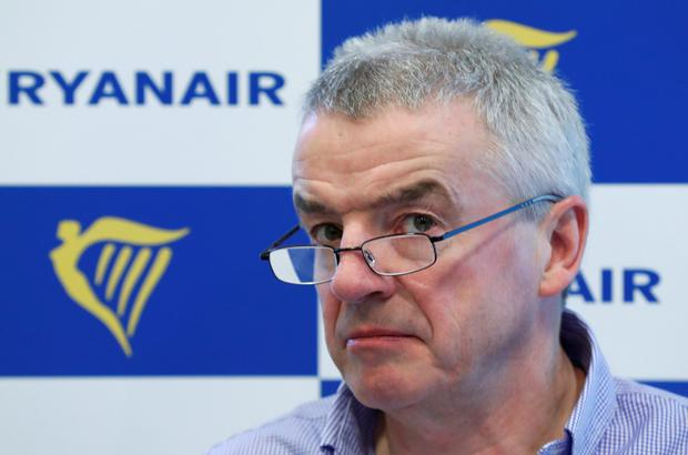 Chief executive Michael O'Leary