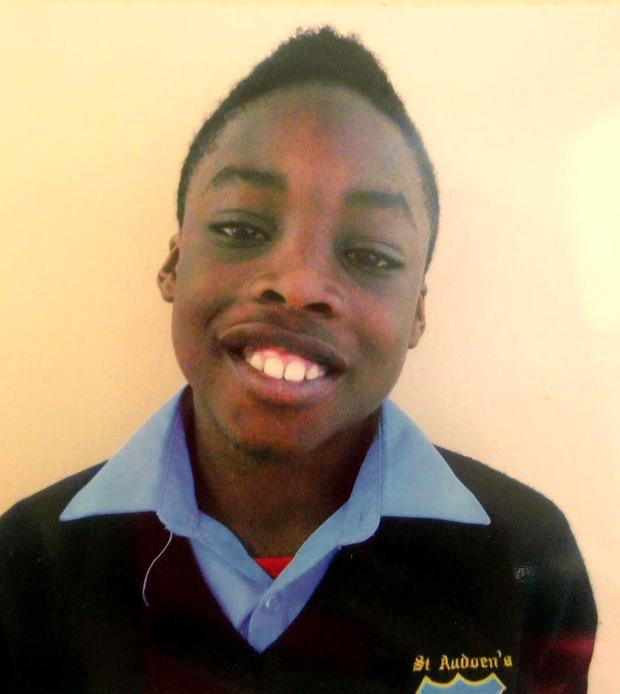 Maleek Lawal went into anaphylactic shock after eating a chicken wrap bought by his mother