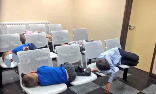 The photo of the children sleeping at Tallaght Garda Station that shocked the nation
