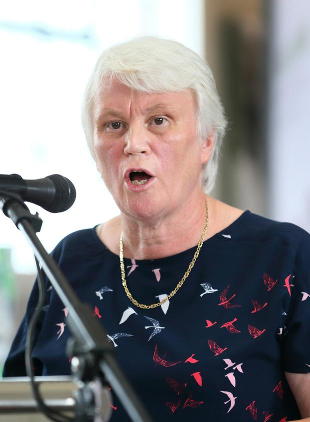 The post shared an image of Drugs Minister Catherine Byrne