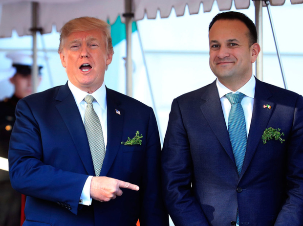 White House gives vaguest reason imaginable for Trump's cancelled trip to Ireland