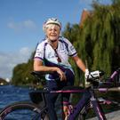 Caroline Heffernan who is set to complete the Barcelona Ironman with Cystic Fibrosis