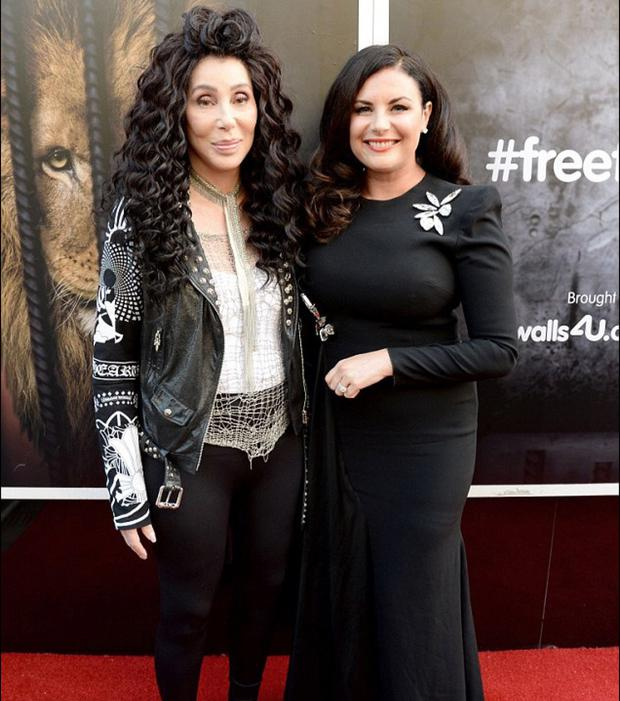 Lisa Cannon and Cher
