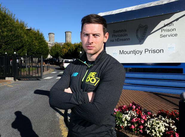 Philly McMahon outside Mountjoy