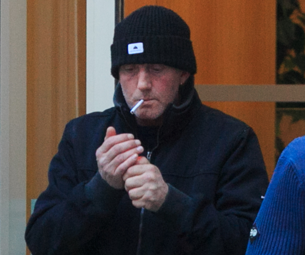 Keith McAllister outside Dublin Coroner's Court