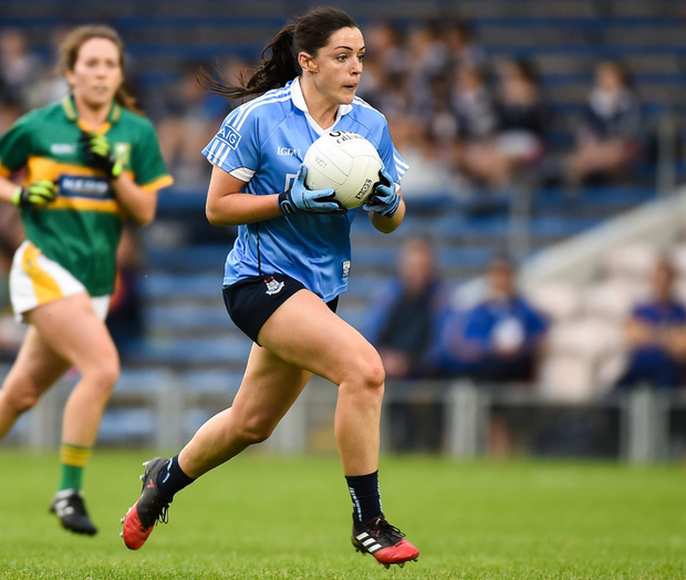 Sinead in action for Dublin