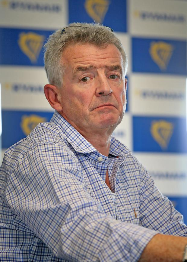 Michael O'Leary faces US suit