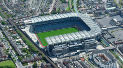 Dublin's record-chasing footballers look certain to have two round-robin games in Croke Park again next year if, as expected, they reach the All-Ireland quarter-finals. Photo: Sportsfile