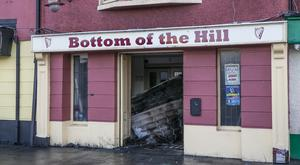 The Bottom of the Hill in Finglas village was gutted by a fire