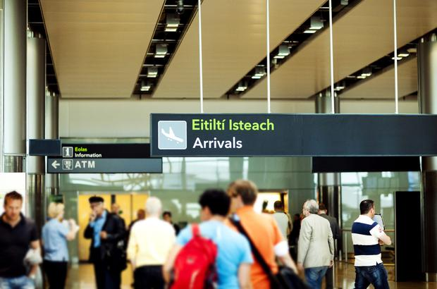 Two people were arrested at Dublin Airport