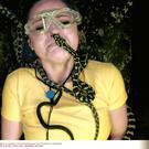 Emily Atack endured a snake on her face in the Bushtucker Trial